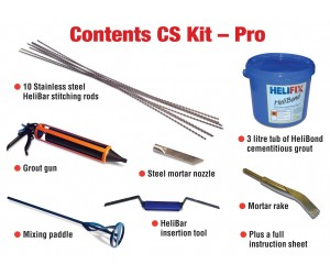 CSK - Professional Helifix Crackstitch Kit1
